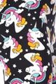 Brushed Dreaming Brushed Dreaming Unicorns Plus Size CaprisPlus Size Capris