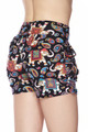 Brushed Classic Paisley Elephant Shorts