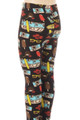 Brushed Hippy Van Summer Holiday Kids Leggings