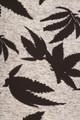 Soft Brushed Solid Heather Grey Marijuana Plus Size Leggings