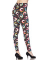 Soft Brushed Groovy Hip Unicorn Extra Plus Size Leggings - 3X-5X