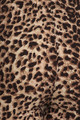 Close-up fabric image of Soft Brushed Feral Cheetah Leggings