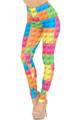 Creamy Soft Lego Extra Small Leggings - USA Fashion™