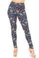 Creamy Soft Sugar Skull Kitty Cats Leggings - USA Fashion™