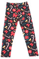 Brushed Traditional Country Christmas Kids Leggings
