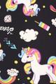 Brushed Rainbow Unicorn Plus Size Leggings
