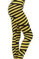 Yellow Bandeau Leggings