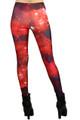 Crimson Galaxy Leggings