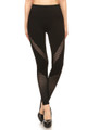 Wholesale Premium Blade Mesh Sport Leggings