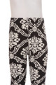 Wholesale Buttery Soft Black Damask Kids Leggings