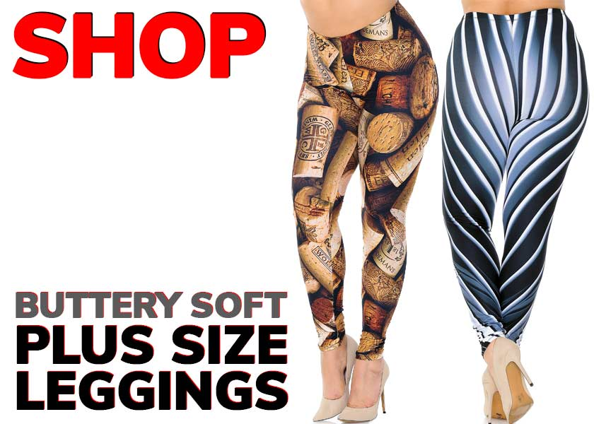 Women's Buttery Soft Plus Size Leggings