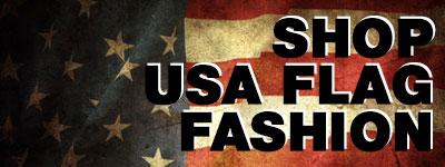 Shop USA Flag Leggings