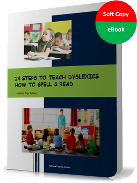 14 steps to teach dyslexics