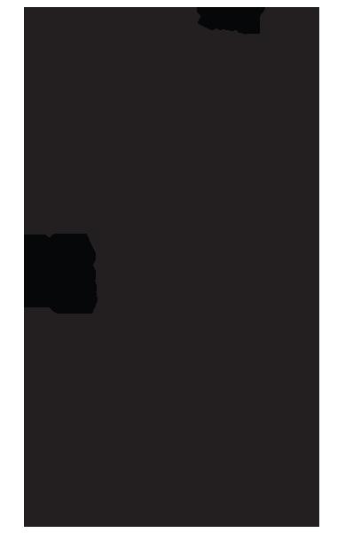 Candelebra Line Drawing