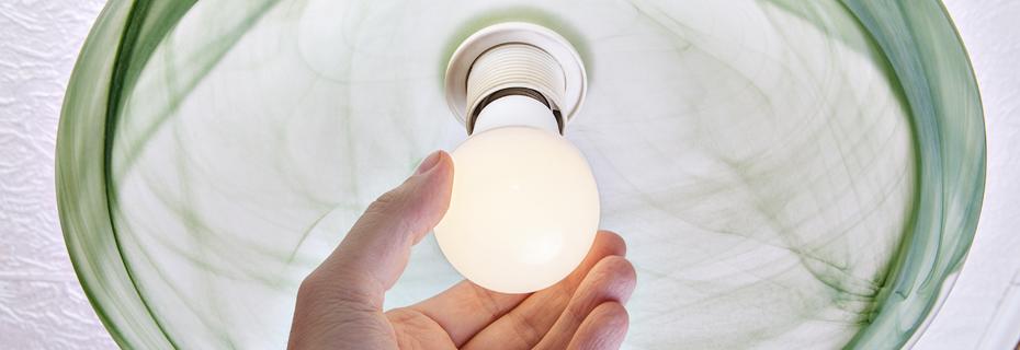 installing led bulb in lamp