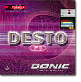 DONIC Desto F1 Rubber Ping Pong Depot Table Tennis Equipment