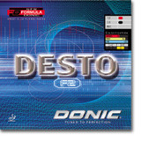 DONIC Desto F2 Rubber Ping Pong Depot Table Tennis Equipment