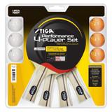 STIGA Performance Four Player Racket Set Ping Pong Depot Table Tennis Equipment 1