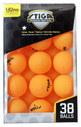 STIGA 1* Balls pack of 38 Ping Pong Depot Table Tennis Equipment