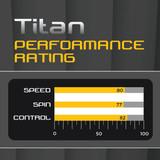 Stiga Titan Racket FL Ping Pong Depot Table Tennis Equipment 3