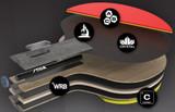 Stiga Pro Carbon FL Ping Pong Depot Table Tennis Equipment 4