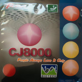 Palio CJ8000 BioTech Rubber Ping Pong Depot Table Tennis Equipment