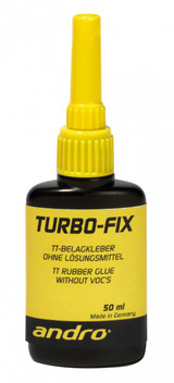 andro Turbo Fix Glue 50 ml Ping Pong Depot Table Tennis Equipment