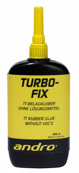 andro Turbo Fix Glue 250 ml Ping Pong Depot Table Tennis Equipment