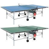 Butterfly Outdoor Playback Rollaway Table Blue USA only, includes shipping and Net Ping Pong Depot Table Tennis Equipment