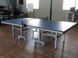 "Double Queen ""Finest Selection"" 25mm Blue Table, includes Net & Post set. Ping Pong Depot Table Tennis Equipment"