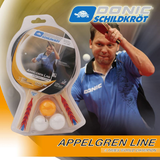 Donic Schildkröt Appelgren 300 2P Set Ping Pong Depot Table Tennis Equipment