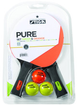 Stiga Pure Color Advance 2-Player Set Ping Pong Depot Table Tennis Equipment