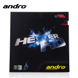 Rubber Sheet for Combo Blade     andro Hexer HD Rubber Only with 1 Combo Blade Ping Pong Depot Table Tennis Equipment