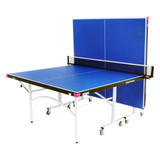 Butterfly Easifold Rollaway Blue Table, includes shipping and Net Canada Only Ping Pong Depot Table Tennis Equipment