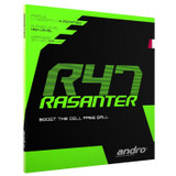 Rubber Sheet for Combo Blade   Andro Rasanter R 47 Rubber Ping Pong Depot Table Tennis Equipment