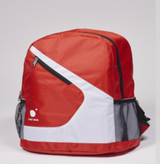 Donic Lao Wa Red/White Backpack Bag Ping Pong Depot Table Tennis Equipment