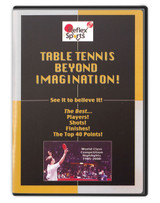 Reflex Sports Table Tennis Imagination DVD pingpongdepot table tennis equipment