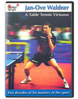 Reflex Sports Jan-Ove Waldner A Table Tennis Virtuoso DVD pingpongdepot table tennis equipment