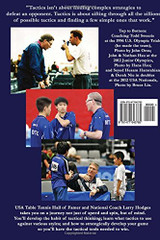 Table Tennis Tactics for Thinkers Book Ping Pong Depot Table Tennis Equipment
