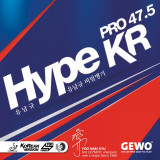 Gewo Hype KR Pro 47.5 Rubber Ping Pong Depot Table Tennis Equipment