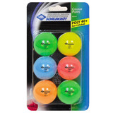 DONIC Schildkröt Color Popps Plastic 40+ Balls pack of 6 Ping Pong Depot Table Tennis Equipment