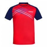 DONIC Attack Red/Navy T-Shirts Ping Pong Depot Table Tennis Equipment
