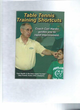 Table Tennis Training Shortcuts by Carl Hardin DVD pingpongdepot table tennis equipment