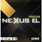 GEWO Nexxus EL Pro 38 Rubber  Ping Pong Depot Table Tennis Equipment
