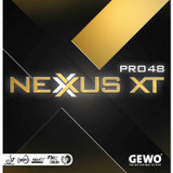 GEWO Nexxus XT Pro 48 Rubber  Ping Pong Depot Table Tennis Equipment