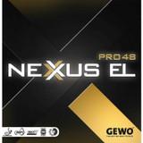 GEWO Nexxus EL Pro 48 Rubber  Ping Pong Depot Table Tennis Equipment