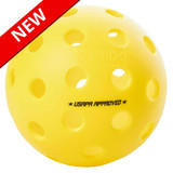 Balls Fuse G2 Outdoor 6-Pack Yellow Ping Pong Depot Table Tennis Equipment