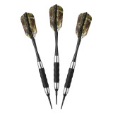 REALTREE XTRA® SOFT TIP DART SET WITH CASE 16 GRAM - FAT CAT Ping Pong Depot Table Tennis Equipment