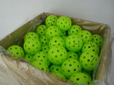 Balls Fuse G2 Outdoor 100-Pack Neon Green Ping Pong Depot Table Tennis Equipment
