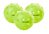 Balls Fuse G2 Outdoor 3-Pack Neon Green Ping Pong Depot Table Tennis Equipment